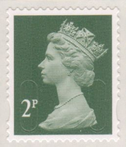 U2921 Security Machin Stamp 2p S/A (No Source Code Date Code 16)